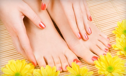 1 Mango Passion Manicure and Pedicure, Valid Through July 9 (a $70 value) - Timothy Stimac Salon & Spa in Bremerton