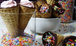 Cupdelicious: Kit festa com minicupcake, doces, cones trufados e minialfajores para 20, 40 ou 60 pessoas na Cupdelicious – Rubem Berta