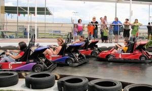 Las Vegas Mini Gran Prix Family Fun Center: Two-Hour Go-Karting & Ride Package Plus Meal at Las Vegas Mini Gran Prix Family Fun Center (Up to 44% Off)