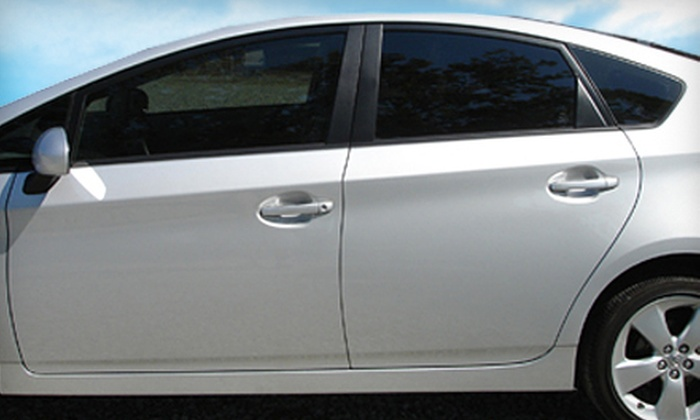 Solar Control - Multiple Locations: Auto Window Tinting for a Full Car, Full SUV, or Two Side Windows at Solar Control (Up to 56% Off)