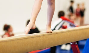 Infinite Bounds: Four or Eight Tumbling, Cheer, or Gymnastics Classes at Infinite Bounds (Up to 70% Off)