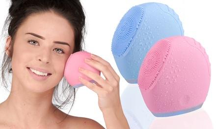 Sonic reinigingsborstel voor gezicht in kleur naar keuze voor € 24,99 korting