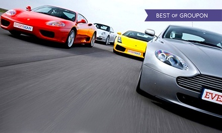 Driving Experience in Up to Four Supercars at Everyman Racing, Multiple Locations