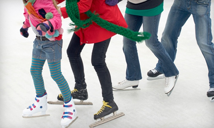 Appleton Family Ice Center - Appleton: Ice Skating for Two, Four, or an Ice-Skating Birthday for Up to 10 at Appleton Family Ice Center (Up to 49% Off)