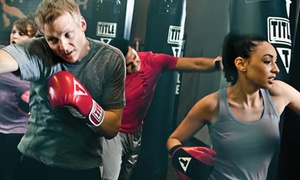 Title Boxing Club: $15 for Two Weeks of Boxing and Kickboxing Classes with Wraps at Title Boxing Club ($75 Value)
