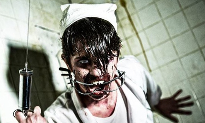 Brighton Asylum - Athenia: Haunted House General Admission for One at Brighton Asylum (40% Off). Five Dates Available.