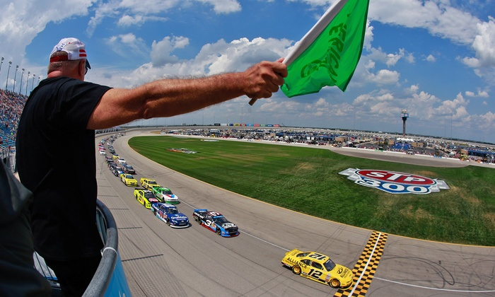 2014 July NASCAR Nationwide Series and ARCA Racing with Collective Soul & Switchfoot Concert - Chicagoland Speedway: $30 for Weekend Infield and Fan Zone Pass and Race Ticket at Chicagoland Speedway on July 18-19 ($55 Value)