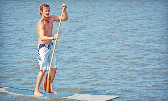 Chesapean Outdoors - Northeast Virginia Beach: $29 for Standup-Paddleboard Dolphin Tour or Flat-Water Tour from Chesapean Outdoors in Virginia Beach ($60 Value)