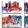 Cityscape Art on Gallery-Wrapped Canvas