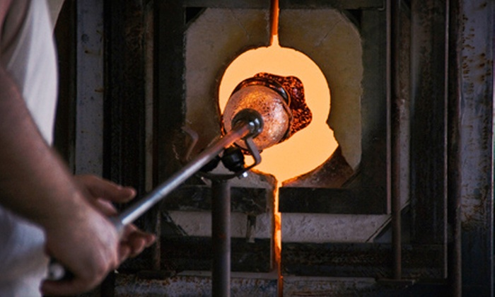Franklin Glassblowing Studio - Franklin: Ornament, Flower, or Paperweight Glass-Blowing Workshop for One or Two at Franklin Glassblowing Studio (Up to 56% Off)