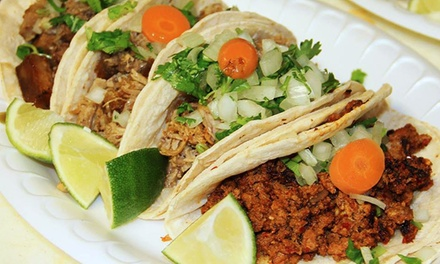 $9 for $15 Worth of Mexican Food at Super Tacos & Bakery