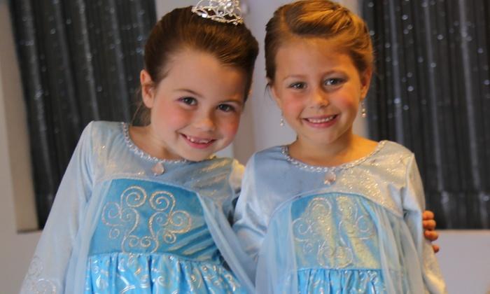 LaDee-Da Kids Spa - La Dee-Da Kids Spa: Up to 51% Off Kids Princess Make-Over Package at LaDee-Da Kids Spa