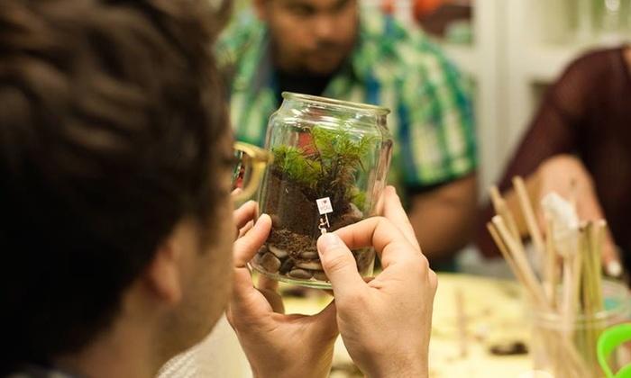 Holiday Moss Terrarium Class - Gowanus: Make a Moss Terrarium Holiday Gift at Twig Terrariums