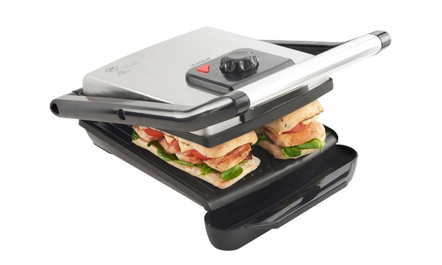 how to clean sandwich press