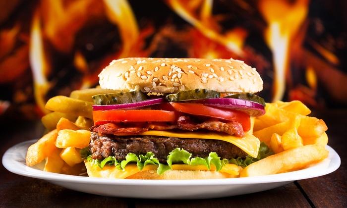 burger men mit milchshake devils kitchen groupon. Black Bedroom Furniture Sets. Home Design Ideas
