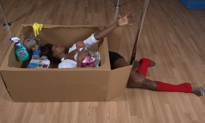 Vixen Academy, LLC - Multiple Locations: $22 for Three Pole Fitness and Dance Classes from Vixen Academy ($45Value)