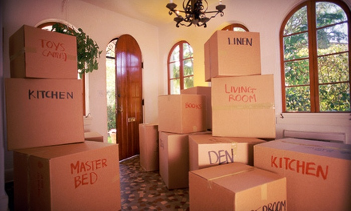 Quality Movers - Holden: $230 for Four Hours of Moving Service from Quality Movers ($500 Value)