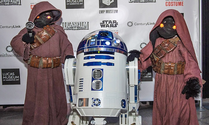 EMP Museum - Lower Queen Anne: Admission to Star Wars: The Party Strikes Back for One or Two at EMP Museum on September 26 (Up to 50% Off)