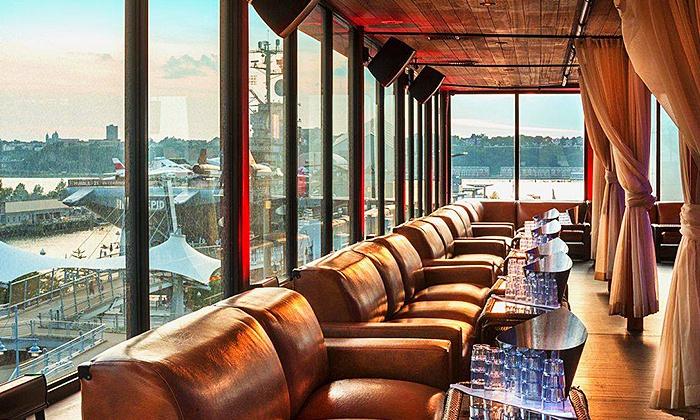 Hudson Terrace - Clinton: General or VIP Admission for One to Rooftop Brunch Party at Hudson Terrace on Sunday, August 16 (Up to 58% Off)