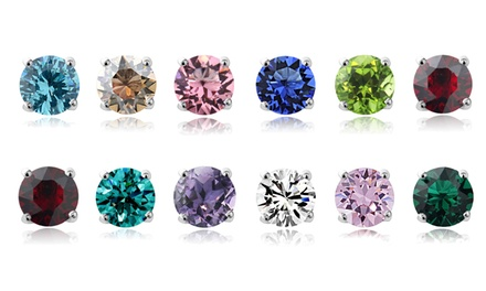 Swarovski Elements Birthstone Stud Earrings Was: $49.99 Now: $5