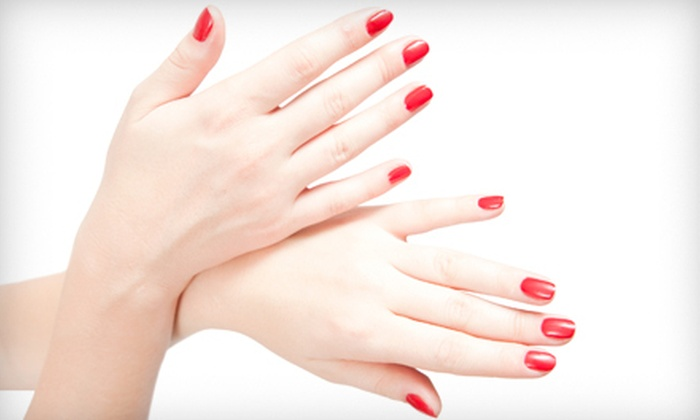 Finesse Nails - Glendale: One or Two Rockstar or Shellac Gel Manicures at Finesse Nails in Glendale (Up to 57% Off)