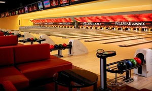 Wildfire Lanes: Regular or Cosmic Bowling for Up to Five or a Two-Hour Party Venue Rental at Wildfire Lanes (Up to 70% Off)