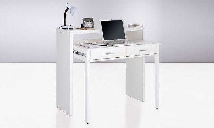 Bureau console extensible groupon shopping for Bureau console