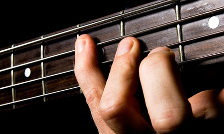 Four or Six Weeks of Private Music Lessons at Matt Burk Music Studio (Up to 53% Off)