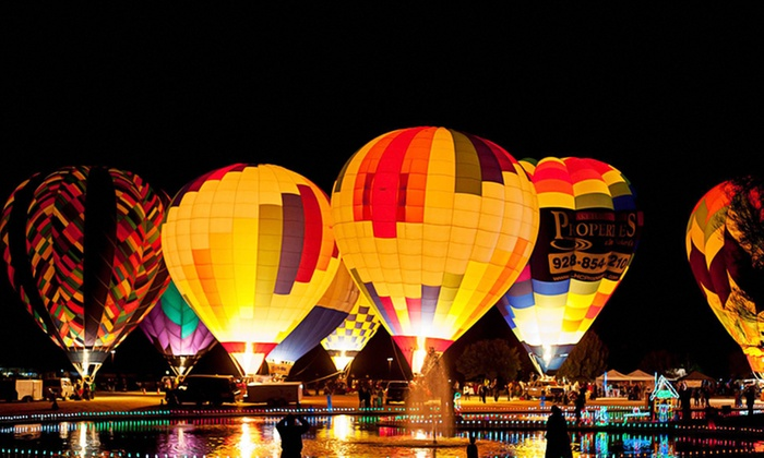 Arizona Balloon Classic - Phoenix: One-Day Hot Air Balloon Festival for Two or Four from Arizona Balloon Classic on January 23–25, 2015 (50% Off)