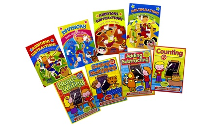 Eight Learning Books for Children for £6.98