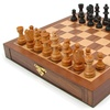 Inlaid Wood Chess Cabinet