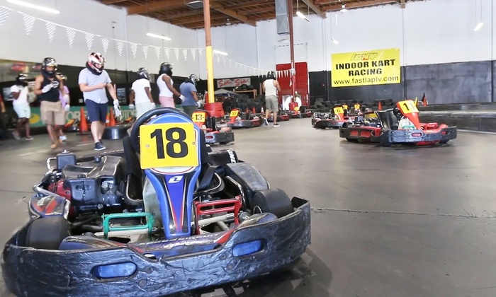 Fast Lap Las Vegas Paradise Two Same Day Go Kart Races