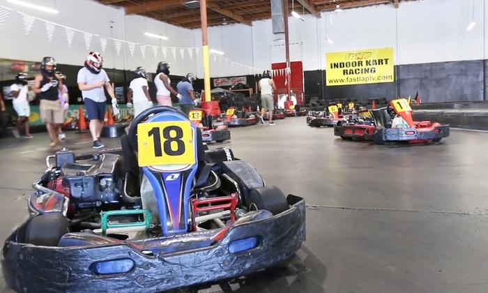 Go-Karting at Fast Lap-Las Vegas - Fast Lap-Las Vegas | Groupon