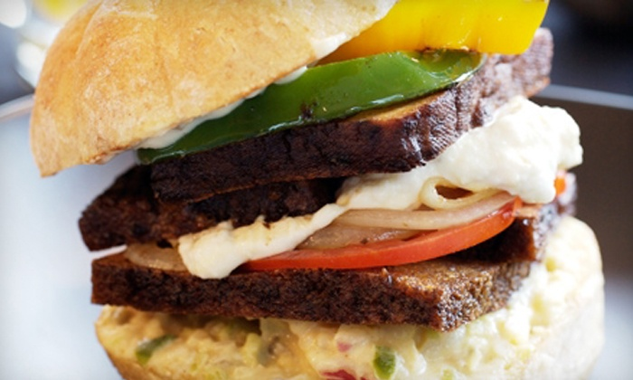 Plum Burgers - Multiple Locations: $21 for Two Burgers, Fries, and Milkshakes at Plum Burgers Food Truck ($42 Value)