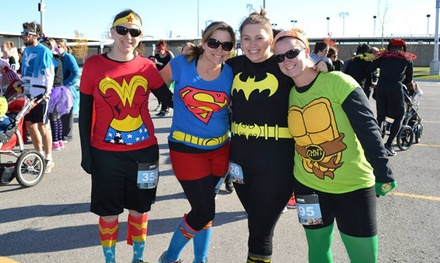 One or Two Entries to 400M Boo Dash, Monster Mile, or Spooktacular 5K from Omaha's Great Pumpkin Run (40% Off)