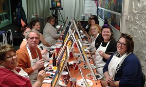 Paint and Pour: $19.99 for Two-Hour Painting Class for One at Paint and Pour Off-Site Venues ($35 Value)