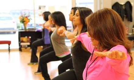 10 Zumba or Dance-Fitness Classes or One Month of Classes at Rhythmaxdance (Up to 74% Off)