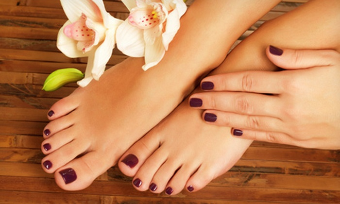 Salon 162 - Boise: One or Two Gel Manicures and Spa Pedicures at Salon 162 (Up to 55% Off)