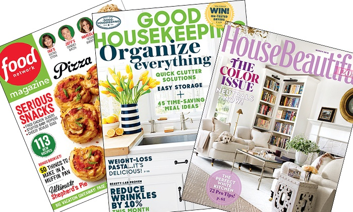 Hearst Magazines: $5 for a 1-Year Subscription to Hearst Women's Fashion & Lifestyle Magazines from Hearst Magazines ($10 Value)