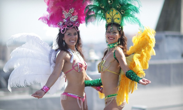 Muito Quente - Multiple Locations: 5 or 10 Samba Dance Classes at Muito Quente (Up to 64% Off)