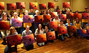Crafts and Draughts LLC: Up to 42% Off Painting Night for One or Two at Crafts and Draughts LLC
