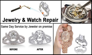 Diamonds By Monet: Up to 51% Off Jewelry and Watch repair at Diamonds By Monet