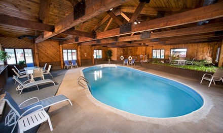 Stay at Adirondack Lodge in Old Forge, NY. Dates into May.