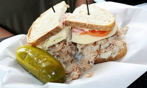 JB's Sarnie Shoppe: $9 for $14 Worth of Deli Food and Drinks at JB's Sarnie Shoppe