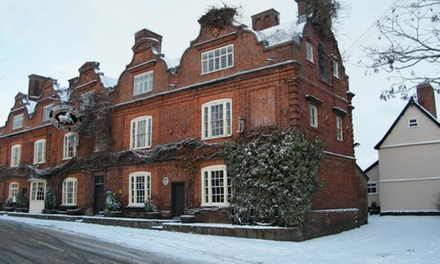 Norfolk: 1 to 3 Nights for Two with Breakfast and Dinner at The Scole Inn