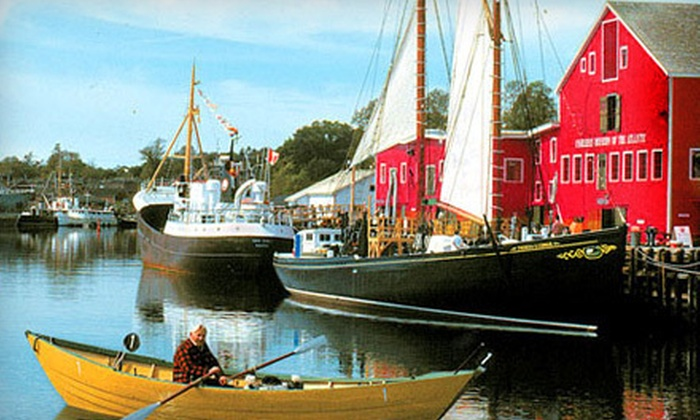 Fisheries Museum of the Atlantic - Lunenburg: Museum Visit for Two or Family Pass or $10 for $20 Worth of Merchandise at Fisheries Museum of the Atlantic