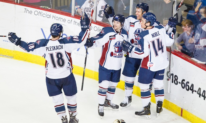 Tulsa Oilers vs. Wichita Thunder - Multiple Locations: $17 for a Tulsa Oilers Hockey Game at the BOK Center on February 5 at 7:05 p.m. ($41.10 Value)