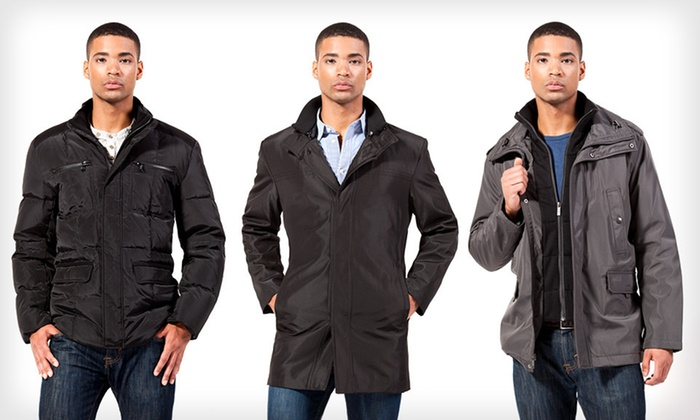 Kenneth Cole Down and Poly Bonded Coats: Kenneth Cole Down and Poly Bonded Men's Coats (Up to 77% Off). 25 Options Available. Free Shipping and Free Returns.