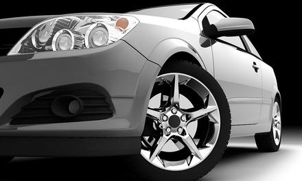 Headlight Adjustment (€12), Diagnostic Check (€25), Wheel Alignment (€35) or Tachograph Calibration (€119)