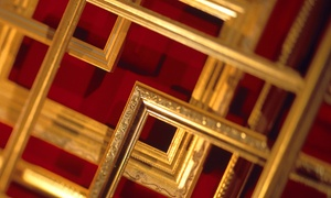 Art & Frame Gallery: Custom Framing at Art & Frame Gallery (51% Off). Two Options Available.